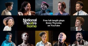 National Theatre Live: free full lengths plays every Thursdays on Youtube